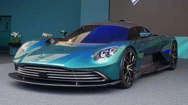 Aston Martin Valhalla - reveal front