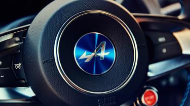 Alpine A110 - steering wheel