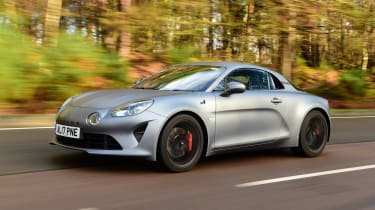 Alpine A110 S - front tracking