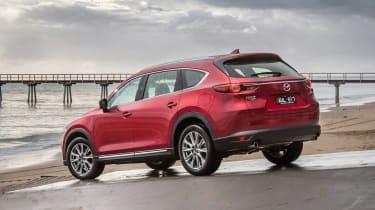 Mazda CX-8 - rear static