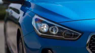 New Hyundai i30 Tourer 2017 - headlight