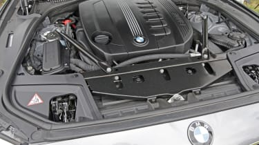 Used BMW 5 Series - engine