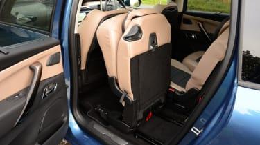 Citroen Grand C4 Picasso rear seat combination