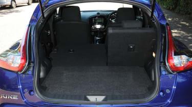 New Nissan Juke 2014 boot
