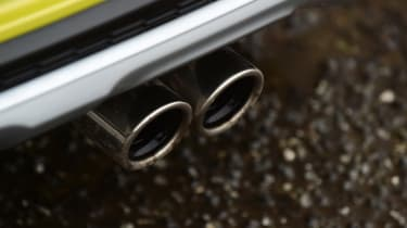 Kia Picanto - exhaust