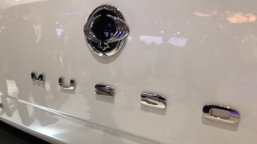 SsangYong Musso - badge