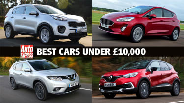Best cars for £10,000 or less