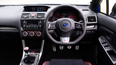 Subaru WRX STi 2014 - interior