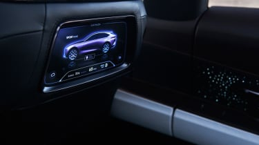 Lexus LF-1 Limitless - rear entertainment