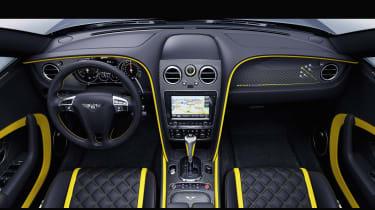 Bentley Continental Breitling - interior