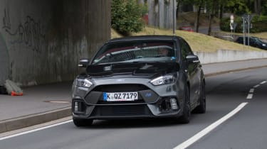 Ford Focus RS500 mule front close