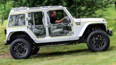 Jeep's wildest concepts driven - Safari side profile