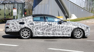 2018 mercedes cls spy shot side