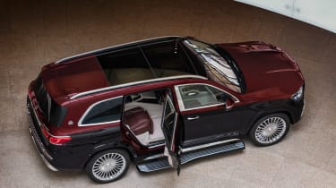 Mercedes-Maybach GLS - above