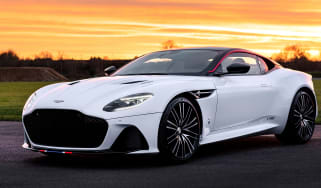 Aston Martin DBS Superleggera Concord - front 3/4 static with Concord
