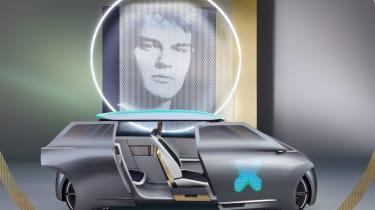 MINI Vision Next 100 concept - side doors open