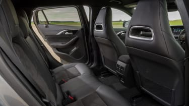 Used Infinti Q30 - rear seats