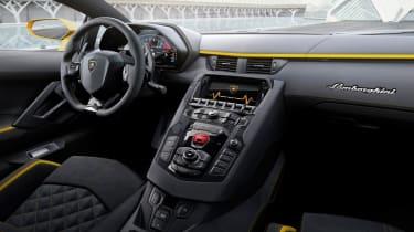 Lamborghini Aventador S - interior