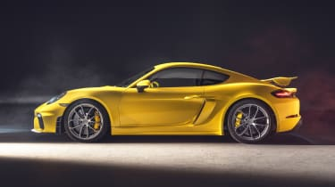 Porsche 718 Cayman GT4 - side