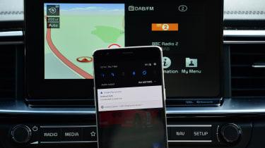 Kia Ceed GT-Line S long termer - phone