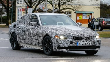 BMW 3-Series 2018 side front