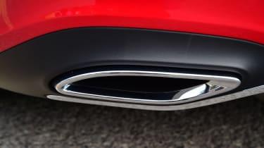 Mercedes A-Class - exhaust