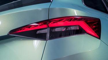 Skoda VisionS concept - rear light