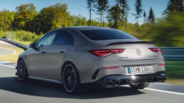 Mercedes-AMG CLA 45 - rear tracking