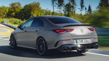 Mercedes-AMG CLA 45 - rear tracking