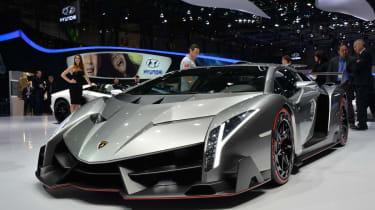 Lamborghini Veneno revealed