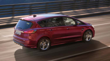 Ford S-Max hybrid - rear action