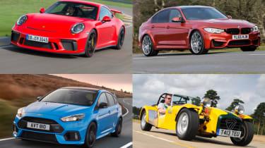 Best performance cars 2017/2018 - header