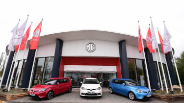 """""""When MG was formed in 1924, it was about affordable cars that were fun to drive. This is what we are delivering today"""" Matthew Cheyne Head of sales and marketing, MG UK"""