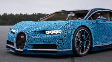 Lego Bugatti Chiron - front