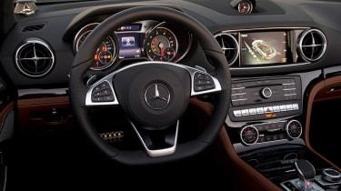 Mercedes SL400 - interior