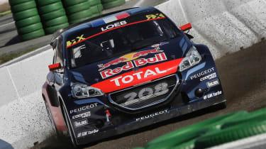 Peugeot Sport - Sebastian Loeb world RX front drift