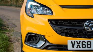 Vauxhall Corsa GSi - front detail