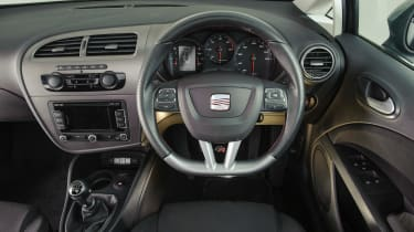 Used SEAT Leon Mk2 - dash