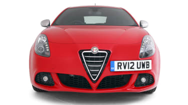 Used Alfa Romeo Giulietta - full front