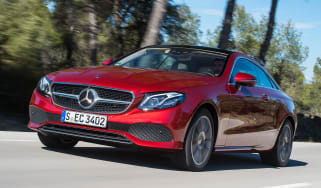 Mercedes E-Class Coupe - E 220d front tracking
