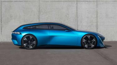Peugeot Instinct Concept - side static