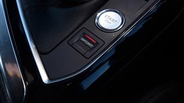 Peugeot 3008 - start/stop button