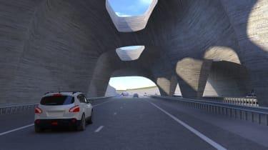 Stonehenge tunnel - tunnel ventilation