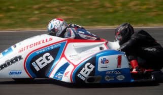 Riding shotgun with an Isle of Man TT sidecar legend - header
