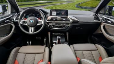 BMW X4 M Competition - interior