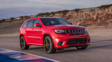 Jeep Grand Cherokee Trackhawk - front tracking