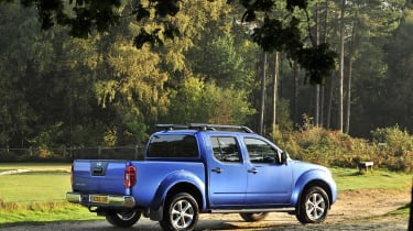The Navara is only available in the extended king size cab.