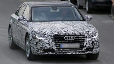 Audi A8 facelift front