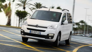 Citroen E-Berlingo Multispace - front cornering