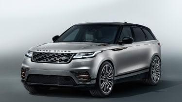 Range Rover Velar - studio front quarter